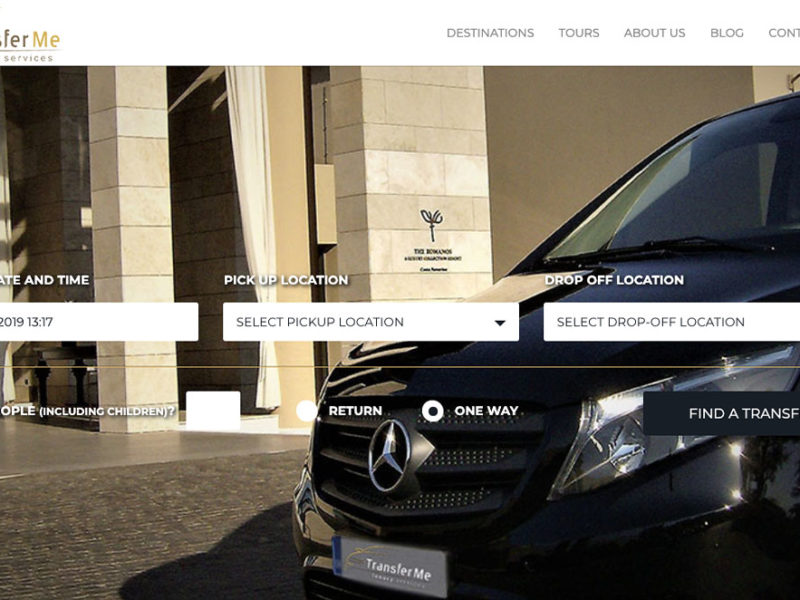 Indevin creative agency – Websites – Eshop - Photos - Transfer Me
