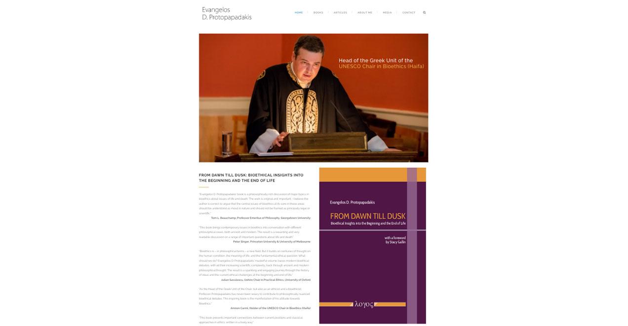 Indevin creative agency – Ιστοσελίδες – Protopapadakis