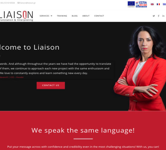 Indevin creative agency - Websites - Liaison Translation & Interpreting