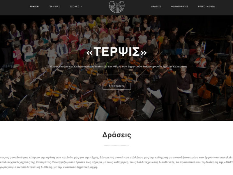 Indevin creative agency – Websites – Terpsis